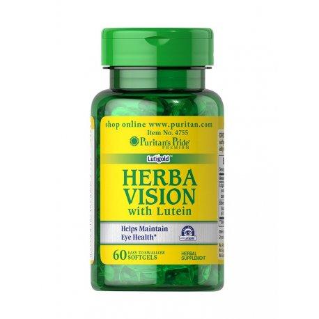 HERBAVISION z Luteiną Wsparcie oczu (60kaps) PURITAN'S PRIDE