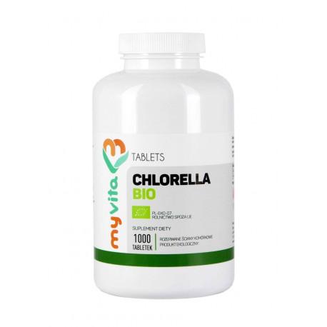 Chlorella Vulgaris BIO 250mg (1000tab) MyVita