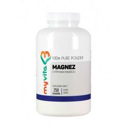 Cytrynian Magnezu Proszek 250g Magnez MyVita