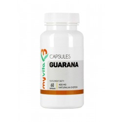 Guarana 400mg 60 kapsułek Zdrowa Kofeina MyVita