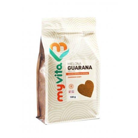 Guarana w proszku 100g Zdrowa Kofeina Energia MyVita
