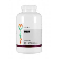 MSM 500mg (250tab) Siarka Organiczna MyVita