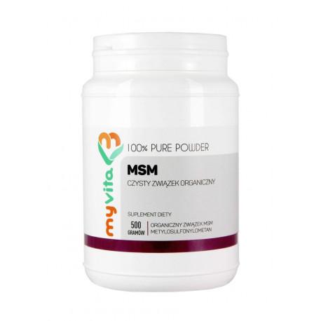 MSM Proszek 500g Metylsulfonylometan MyVita