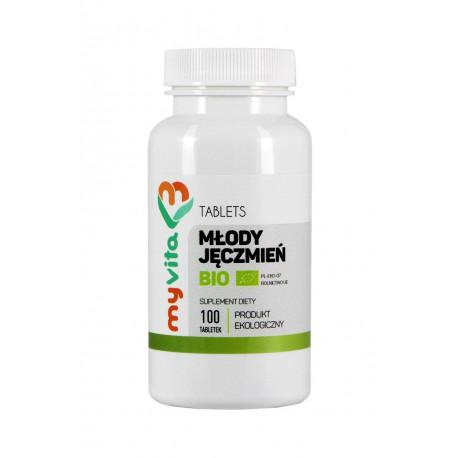 Młody Jęczmień BIO 500mg 100 tabletek z Niemiec MyVita
