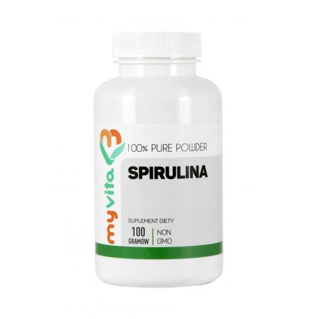 Spirulina Platensis 100g Proszek MyVita