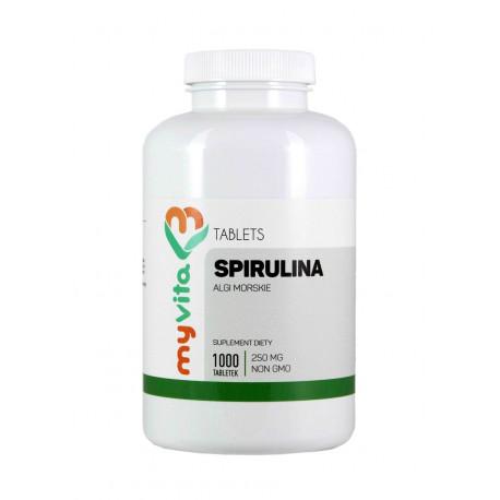 Spirulina Platensis 250mg (1000tab) MyVita