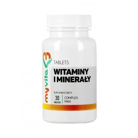 Witaminy i Minerały 30 tabletek MyVita