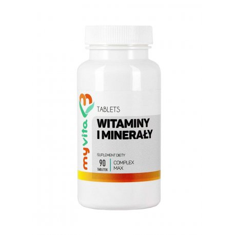 Witaminy i Minerały 90 tabletek Complex MyVita