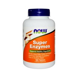 Super Enzymes Enzymy Trawienne (180tab) Now Foods
