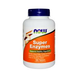 Super Enzymes Enzymy Trawienne (180tab) Now Foods