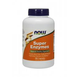 Super Enzymes Enzymy Trawienne (180kaps) Now Foods
