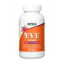 EVE Zestaw witamin dla Kobiet (180kaps) Now Foods