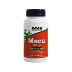 Maca Korzeń 500 mg (100 kaps) Libido Now Foods