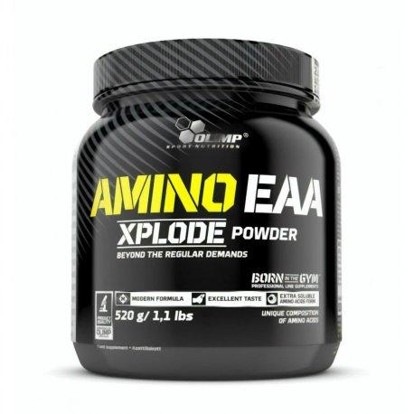 Amino EAA Xplode Ice Tea Peach 520g Aminokwasy EAA BCAA Olimp