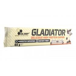 Baton Wysokobiałkowy High Protein Bar Gladiator 60g Smak Waniliowo-Śmietankowy Olimp