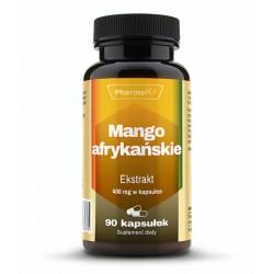 Mango Afrykańskie Ekstrakt 4:1 400 mg (90 kaps) Pharmovit