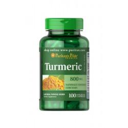 Kurkuma Turmeric 800mg (100kaps) Puritan's Pride