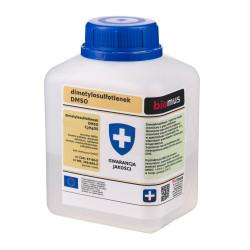 DMSO Dimetylosulfotlenek 250ml Czysty 99,9% Biomus