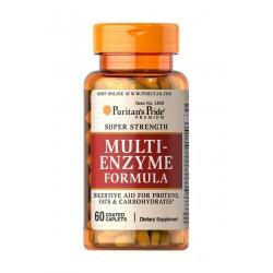 Enzymy Trawienne Multi-Enzyme Formuła (60tab) Puritan's Pride