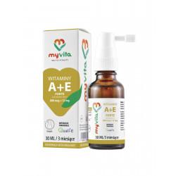 Witamina A + E Forte 30 ml w płynie krople MyVita