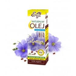 Olej Lniany BIO EKO Naturalny 100% 50ml Etja