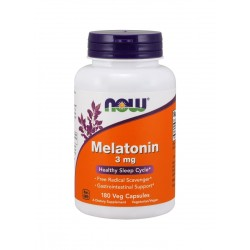 Melatonina 3mg (180kaps) Now Foods