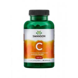 Witamina C 1000 mg z Dziką Różą (90 kaps) Swanson
