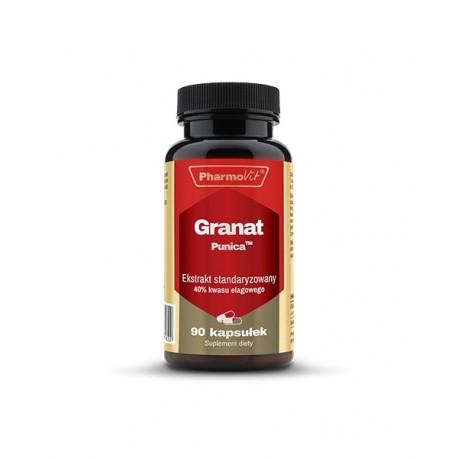 Granat Punica™ Ekstrakt Standaryzowany 40% Kwasu Elagowego (60kaps) Pharmovit