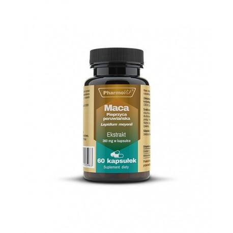 Maca Pieprzyca Peruwiańska Ekstrakt 4:1 360 mg (60kaps) Pharmovit