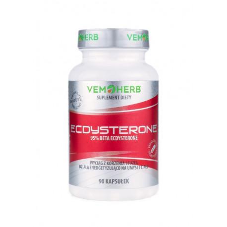 Ecdysterone 95% Beta Ekdysteronu (90kaps) Leuzea VemHerb