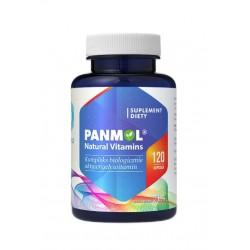 Panmol® Multiwitamina naturalne witaminy roślinne (120kaps) Hepatica