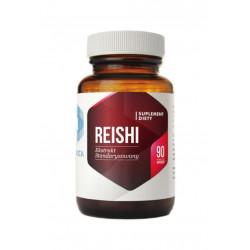 Grzyby Reishi Standaryzowane 30% (90 kaps) Hepatica