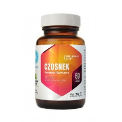 Czosnek Fermentowany Ekstrakt 10:1 400 mg (60 kaps) Hepatica