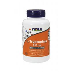 L-Tryptophan Tryptofan 500 mg (60kaps) Now Foods