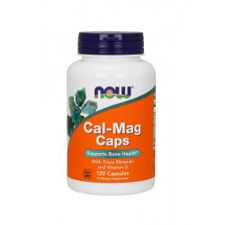 CAL-MAG Bone Health (120 kaps) Zdrowie Kości Now Foods