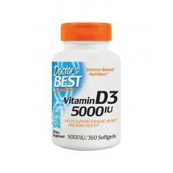 Witamina D3 5000 IU (360sgels) Doctor's Best