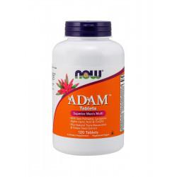 ADAM Zestaw witamin dla Mężczyzn (120tab) Now Foods