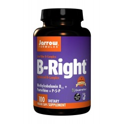 B-Right B Complex (100kaps) Kompleks witamin B Jarrow Formulas
