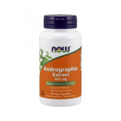 Andrographis 400 mg Ekstrakt (90 kaps) Now Foods