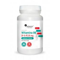 Witamina B6 P-5-P 25 mg (100 tab) VEGE Aliness