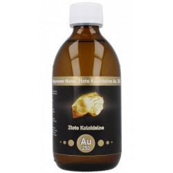 Niejonowe Nano Złoto Koloidalne AU 250 25 ppm 300ml Vitacolloids