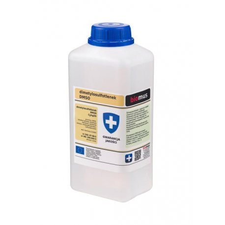 DMSO Dimetylosulfotlenek 1000 ml (1 L) Biomus