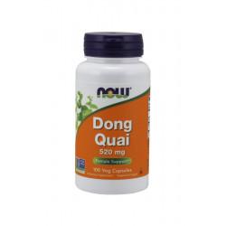 Dong Quai 520 mg (100kaps) Dzięgiel Chiński Now Foods