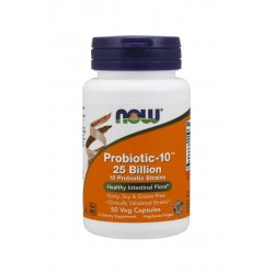 Probiotic-10 25 Billion (50 kaps) Probiotyk Now Foods