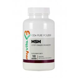 MSM Proszek 100 g Siarka organiczna Myvita