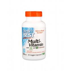 Multi-Vitamin (90kaps) Zestaw Witamin i Minerałów + Kwas foliowy Doctor's Best