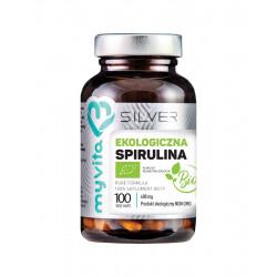 Spirulina Platensis BIO 600 mg (100 kaps) Silver MyVita
