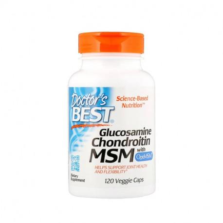 Glukozamina Chondroityna OptiMSM (120 kaps) Doctor\'s Best