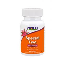 SPECIAL TWO Multiwitamina Kompleks Witamin i Minerałów (180tab) Now Foods