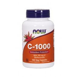 Witamina C-1000 + Bioflawonoidy + Rutyna (100 kaps) Now Foods
